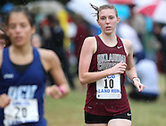 OC Women's Cross Country UCO Land Run - 9/6/2014