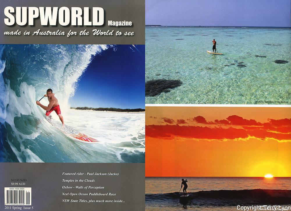 Supworld magazine, photographic feature