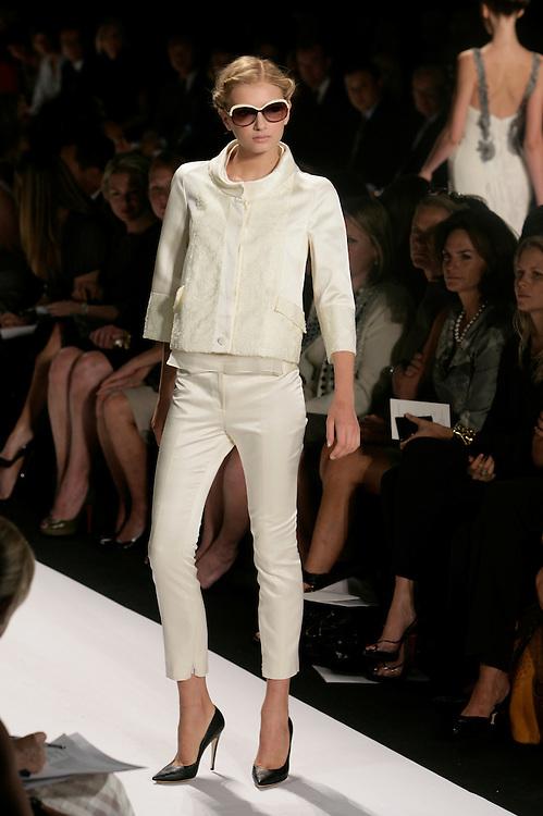 Carolina Herrera<br /> Spring/Summer 2009 Collection<br /> Mercedes-Benz Fashion Week<br /> New York, NY Sept, 2008