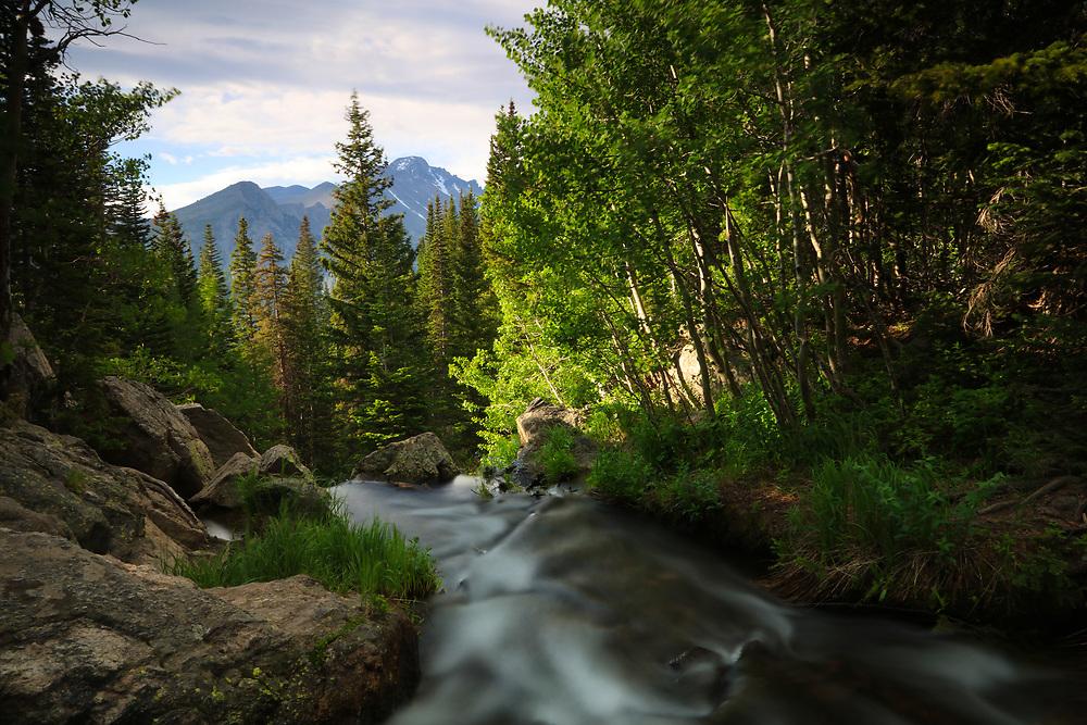 Longs Peak alpine stream