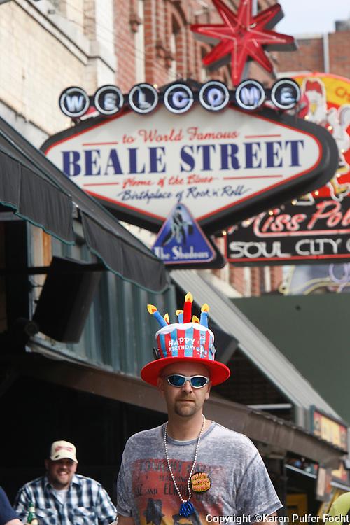 Street Scenes, Beale Street, Memphis, Tennessee