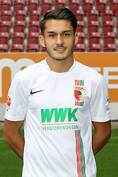 08.07.2015, WWK Arena, Augsburg, GER, 1. FBL, FC Augsburg, Fototermin, im Bild Arif Ekin #31 (FC Augsburg) // during the official Team and Portrait Photoshoot of German Bundesliga Club FC Augsburg at the WWK Arena in Augsburg, Germany on 2015/07/08. EXPA Pictures © 2015, PhotoCredit: EXPA/ Eibner-Pressefoto/ Kolbert<br /> <br /> *****ATTENTION - OUT of GER*****