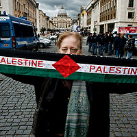 Manifestazione contro primo ministro israeliano Benjamin Netanyahu