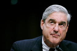 May 18, 2017 - (File Photo) - The Justice Department on Wednesday named Robert Mueller as special counsel to oversee the department's investigation into Russian meddling in the 2016 election. Mueller served as FBI director from 2001 through 2013. PICTURED: Feb. 16, 2011 - Washington, D.C, U.S. - FBI Director ROBERT MUELLER testifies before the Senate Intelligence Committee hearing on the 'Worldwide Threat.' (Credit Image: © James Berglie/ZUMAPRESS.com)