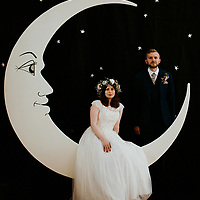 Total Eclipse ~ Cara & Matt's Fountains Abbey & Ripley Town Hall Yorkshire Wedding
