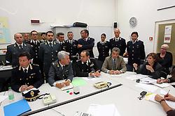 TERREMOTO NEL FERRARESE 2012: ASSEMBLEA FORZE DELL'ORDINE IN PREFETTURA