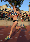 May 17, 2018; Los Angeles, CA, USA; Danielle Aragon places second in the women's 1,500m in 4:09.57 during the USATF Distance Classic at Occidental College.
