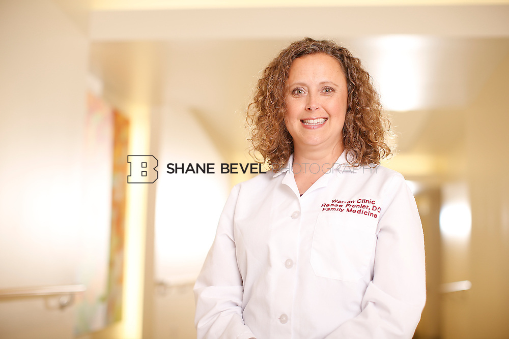 5/28/15 4:14:50 PM -- Dr. Renee Frenier of Saint Francis Health System poses for a portrait for the 2015 Advertising Campaign. <br /> <br /> Photo by Shane Bevel