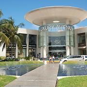 Luxury Avenue shopping mall. Cancun, Quintana Roo. Mexico.