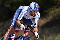Bradley WIGGINS (Gbr) during the UCI Road World Championships 2014, in Ponferrada,  Spain, Time Trial Men Elite,  Ponferrada - Ponferrada (47Km), on September 24, 2014. Photo Tim de Waele / DPPI