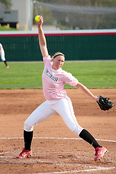 13 April 2010: Megan Warner. The Illini of Illinois knock off the Illinois State Redbirds 5-1 on the campus of Illinois State University in Normal Illinois.