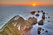 Sunrise at Nugget Point, Catlins, New Zealand