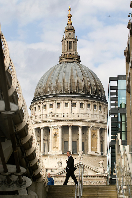 UK. London. St Paul's Cathedral. .