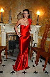 Model MARIE DONOHUE a friend of Flavio Briatore at Michele Watches Kaleidoscope Summer Garden Party held at Home House, Portman Square, London on 15th June 2005.<br /><br />NON EXCLUSIVE - WORLD RIGHTS