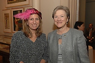 Loiuse Mirrer and Kathryn S. Wylde<br /> The New-York Histoircal Society.Opening of:Woven Splendor from Timbuktu to Tibet: Exotic Rugs and Textiles from New York Collectors