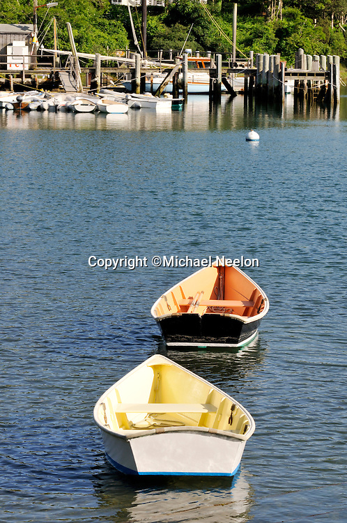 Quissett Harbor Rowboats, Falmouth, Cape Cod