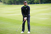 Former Westlife singer Brian McFadden during the BMW PGA Championship Celebrity Pro-Am Day at the Wentworth Club, Virginia Water, United Kingdom on 25 May 2016. Photo by Simon Davies.