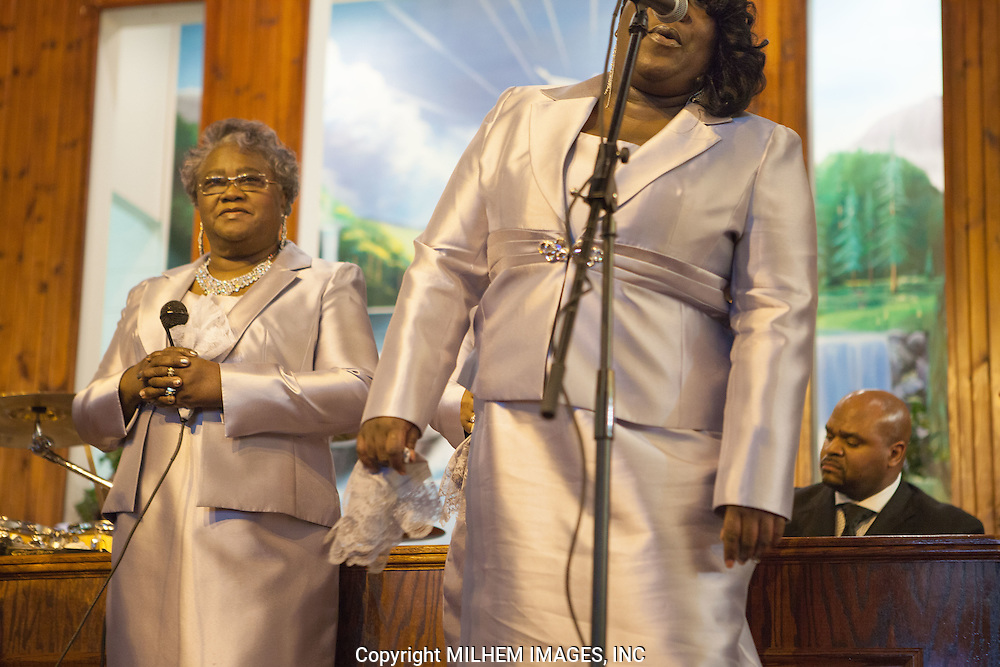 Ann Scott, Silver Stars of Heaven, Detroit Gospel Church Performances.