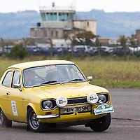 Car 129 Kim Eaton Anji Martin Ford Escort Sport