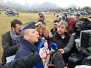 German Plane Crash<br /> PC OperationsThe gendarmes AVIATION SAFETY near the site where a Germanwings Airbus A320 crashed<br /> ©Exclusivepix media