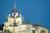Ukraine, Crimée, Église Foros. // Foros church - Black sea - Crimea - Ukraine