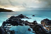 Sunrise at Kahena Beach, Hawaii, the Big Island. June 2013