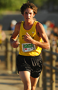 Oct 20, 2006; Walnut, CA, USA; Shaun Boyte of Del Oro places second in the boys Division III sweepstakes race in 15.49 over the 2.91-mile course in the 59th Mt. San Antonio College Cross Country Invitational.