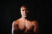 Boxer Evander Holyfield, a five-time worldwide heavyweight champion, photographed in Atlanta, Georgia November 29, 2012.