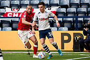 Preston North End midfielder Josh Harrop (10) in action during the EFL Sky Bet Championship match between Preston North End and Charlton Athletic at Deepdale, Preston, England on 18 January 2020.