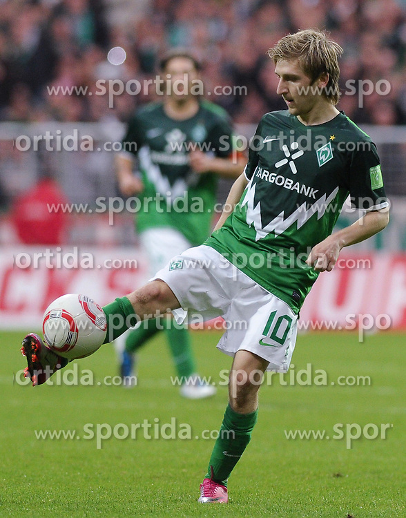 25.09.2010, Weserstadion, Bremen, GER, 1. FBL, Werder Bremen vs Hamburger SV, im Bild Marko Marin (Bremen #10)   EXPA Pictures © 2010, PhotoCredit: EXPA/ nph/  Frisch+++++ ATTENTION - OUT OF GER +++++ / SPORTIDA PHOTO AGENCY