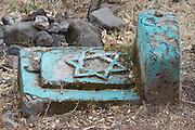 Africa, Ethiopia, Gondar, Wolleka village, The Beta Israel (the Jewish community) cemetery