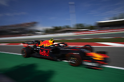 May 11, 2019 - Barcelona, Catalonia, Spain - Pierre Gasly of France driving the (10) Aston Martin Red Bull Racing RB15 during qualifying for the F1 Grand Prix of Spain at Circuit de Barcelona-Catalunya on May 11, 2019 in Barcelona, Spain. (Credit Image: © Jose Breton/NurPhoto via ZUMA Press)