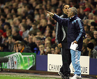 Photo: Paul Greenwood.<br /> Liverpool v Marseille. UEFA Champions League, Group A. 03/10/2007.<br /> Marseille coach Erik Gerets