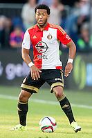 ROTTERDAM - Feyenoord - Olympiakos FC, Voetbal , Seizoen 2015/2016 , oefenwedstrijd , Stadion de Kuip , 01-07-2015 , Speler van Feyenoord Tonny Vilhena