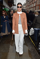 Chloe Lewis attends the A/W 16 Julien MacDonald Catwalk Show at One Mayfair during London Fashion Week Autumn/Winter 2016/17 in London, UK. 20/02/2016<br />BYLINE MUST READ : GOTCHAIMAGES.COM<br /><br />Copyright by © Gotcha Images Ltd. All rights reserved.<br />Usage of this image is conditional upon the acceptance <br />of Gotcha Images Ltd, terms and conditions available at<br />www.gotchaimages.com