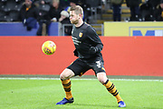 Hull City defender Ondrej Mazuch (3) in warm up during the EFL Sky Bet Championship match between Hull City and Swansea City at the KCOM Stadium, Kingston upon Hull, England on 22 December 2018.