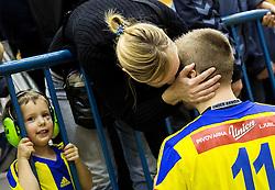 Gal Marguc of RK Celje PL after the handball match between RK Celje Pivovarna Lasko and RK Gorenje Velenje in Eighth Final Round of Slovenian Cup 2015/16, on December 10, 2015 in Arena Zlatorog, Celje, Slovenia. Photo by Vid Ponikvar / Sportida
