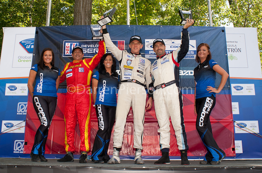 Lites 2 Class Podium: Scott Tucker, Alan Nadal, Michal Chlumecky