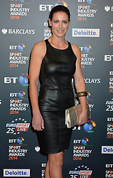 Pictured is Kirsty Gallacher.<br /> <br /> BT Sport Industry Awards 2014 at Battersea Evolution, London, UK.<br /> <br /> Thursday, 8th May 2014. Picture by Ben Stevens / i-Images