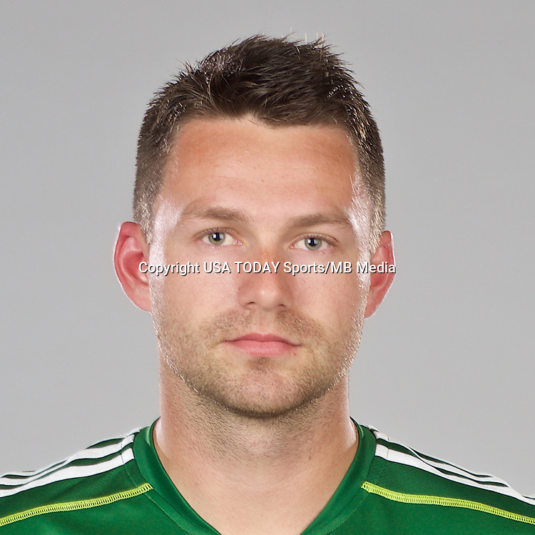 Feb 25, 2016; USA; Portland Timbers player Jack McInerney poses for a photo. Mandatory Credit: USA TODAY Sports