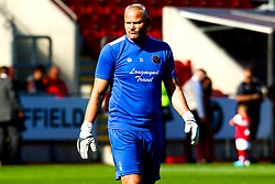 Shrewsbury Town goalkeeping coach Brian Jenson - Mandatory by-line: Ryan Crockett/JMP - 21/09/2019 - FOOTBALL - Aesseal New York Stadium - Rotherham, England - Rotherham United v Shrewsbury Town - Sky Bet League One