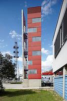 Stadtfeuerwehr, Oberwart.Architektur: Hans Gangoly
