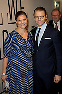 Karlstad, 18-11-2015<br /> <br /> <br /> Crown Princess Victoria and Prince Daniel visit Varmland<br /> <br /> Royalportraits Europe-Bernard Ruebsamen