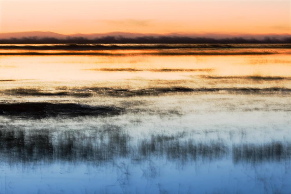 Sunset, Merced Wildlife Refuge, California  2007