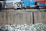 July 2010 - Garbage fills the canals and ravines in Port-au-Prince, Haiti. After the devastating magnitude-7.0 earthquake that hit the county in January 2010, garbage is only one of Haiti's urgent problems.