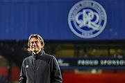 Brentford Manager Thomas Frank ahead of the EFL Sky Bet Championship match between Queens Park Rangers and Brentford at the Kiyan Prince Foundation Stadium, London, England on 28 October 2019.