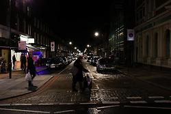 UK ENGLAND LONDON 26MAR14 - Pedestrians cross a street on Edgware Road, Paddington, central London.<br /> <br /> jre/Photo by Jiri Rezac<br /> <br /> © Jiri Rezac 2014