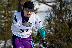 DEKIJIMA Momoko, JPN, Long Distance Cross Country, 2015 IPC Nordic and Biathlon World Cup Finals, Surnadal, Norway