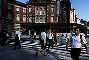 Tokyo station, the street and the area arround the station of Tokyo
