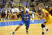 Taranto 08-06-2011<br /> Qualifying Tournament Eurobasket Women 2011<br /> Italia-Romania<br /> Nella foto Francesca Zara<br /> Foto di Ciamillo-Castoria